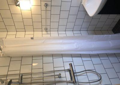 Badrum dusch